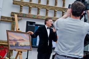 Денис Чудаев ведущии? корпоративного праздника компании ROLF
